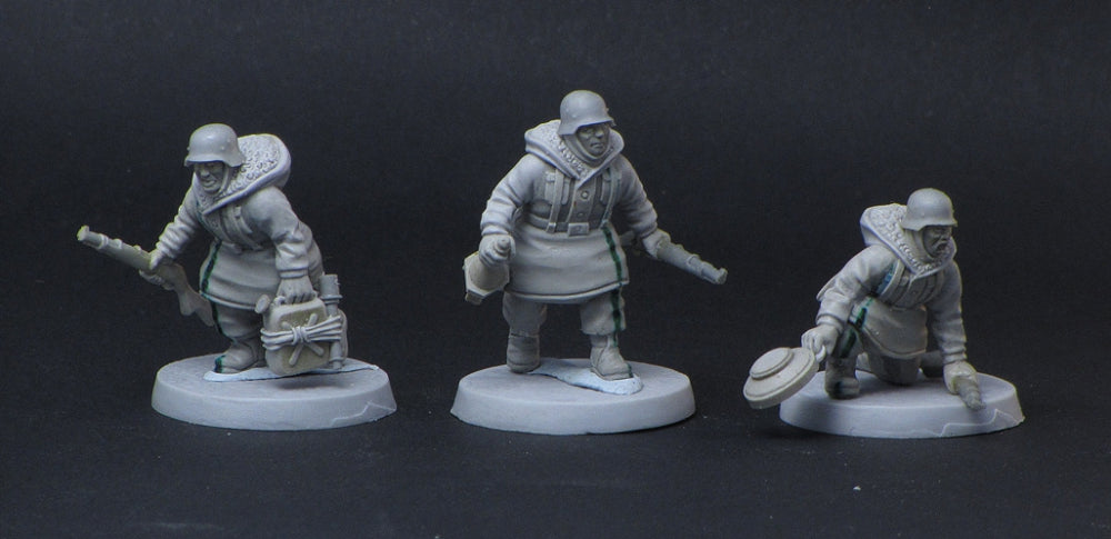 ~Heer46 Kharkov Panzernacker Team- Pewter