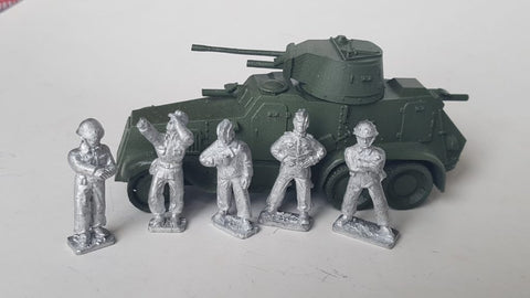 ~May '40 Landsverk Crew- Pewter