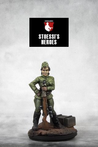 ~Stoessi's Heroes Red Army Sniper Lyudmilla- Pewter