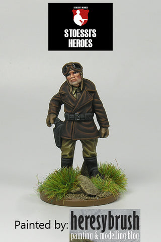 "~Stoessi's Heroes US Army Lt Col.- Charles Carpenter ""Bazooka Charlie"" - Pewter"