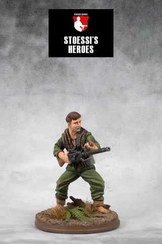 ~Stoessi's Heroes US Marine Corps Corporal - Tony Stein- Pewter