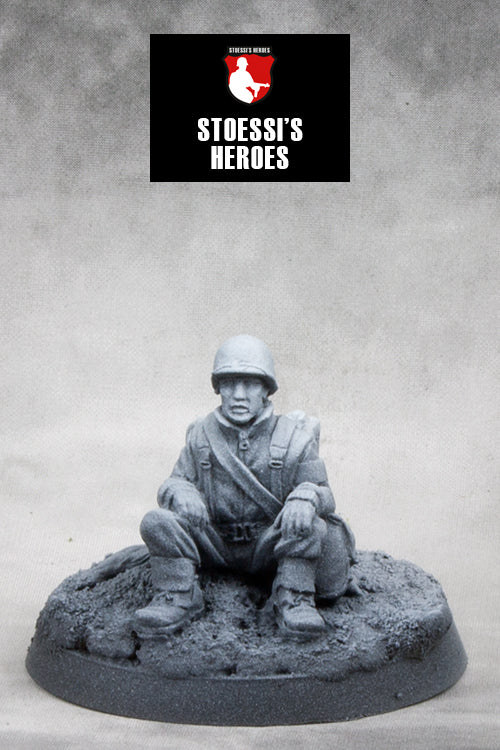 ~Stoessi's Heroes US Airborne Technician Fourth Grade- Eugene Gilbert Roe, Sr.- Pewter