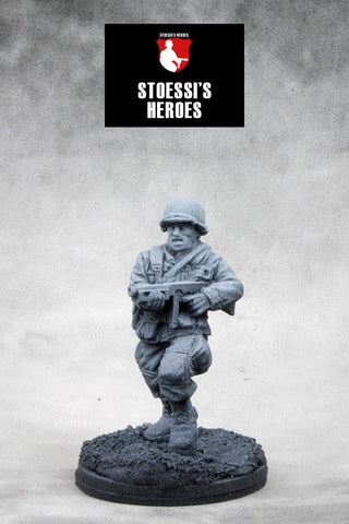 ~Stoessi's Heroes US Airborne Lieutenant- Ronald C. Speirs- Pewter