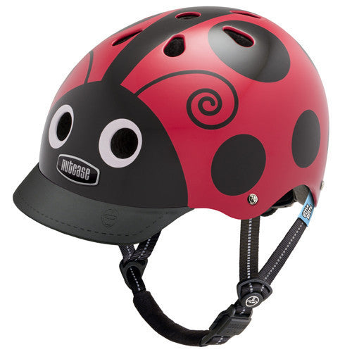 Casco Nutcase LITTLE NUTTY - Lady Bug