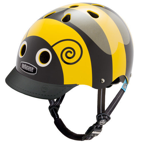 Casco Nutcase LITTLE NUTTY - Bumble Bee