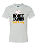 Boise Hawks Host Family (Baseball Design) - Performance Short Sleeve T-Shirt