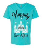 Happily Ever Afters - Next Level UNISEX v-neck tee