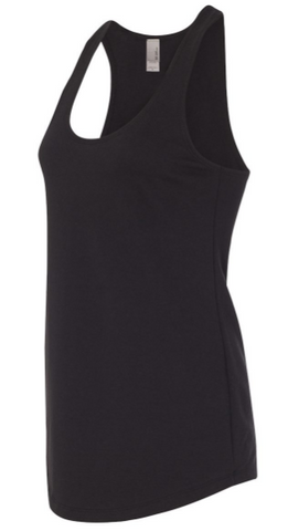 Straight Outta Wax? - Next Level Women's Terry Racerback Tank