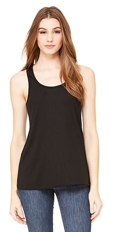 Wife Mom Boss  - Bella Flowy Racerback Tank