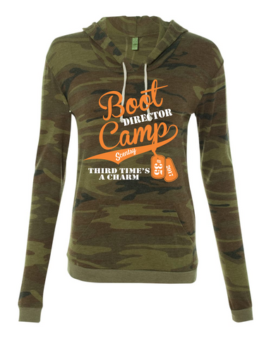 Boot Camp #35 - Alternative - Eco-Fleece Women's Athletics Hooded Pullover