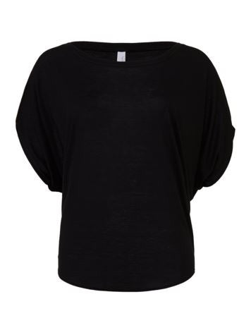 The Party Animals Bella + Canvas - Women's Flowy Draped Sleeve Dolman Tee - 8821