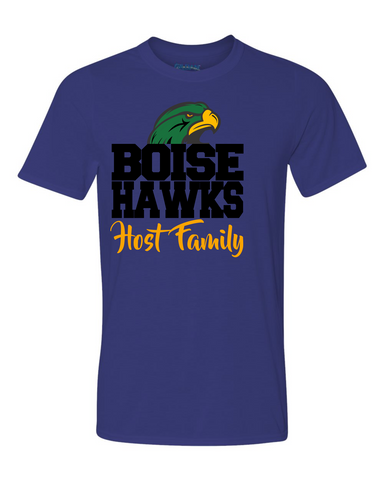 Boise Hawks Host Family (Hawk Design) - Performance Short Sleeve T-Shirt