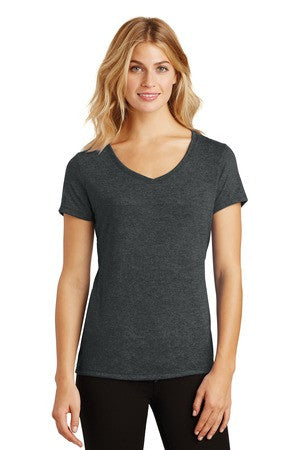 Wife Mom Boss - Ladies Perfect Triblend V-Neck Tee