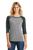 Girl Boss - Ladies Perfect Tri™ 3/4-Sleeve Raglan