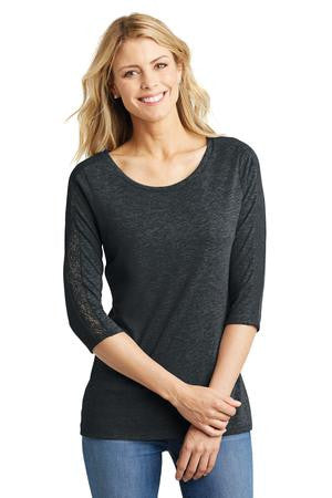 Star Director Summit - ALadies tri-blend lace 3/4 sleeve tee