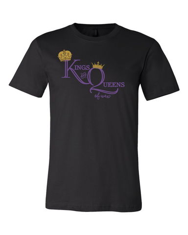 King and Queens of Wax - Bella Round Neck UNISEX fit tee