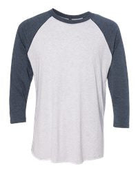 Real Men Sell Scentsy- Next Level- Unisex Tri-Blend Three-Quarter Sleeve Raglan Tee