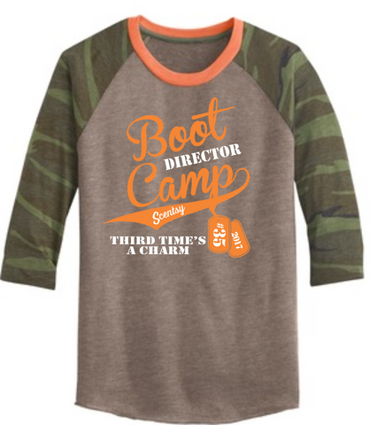 Boot Camp #35 - Alternative® Eco-Jersey Baseball T-Shirt.