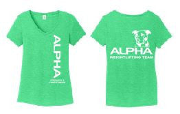 Alpha - Ladies Perfect Tri V-Neck Tee