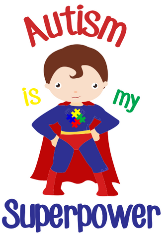 Autism is my superpower Transfers