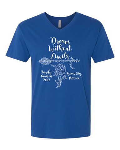 Dream Without Limits - Next Level UNISEX v-neck tee