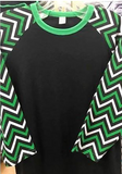 Scentsy Logo on a Chevron Raglan