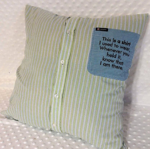 Remembrance pillow SLIPCOVER