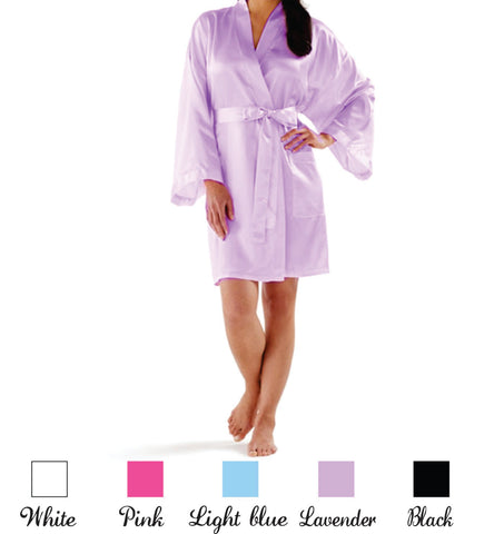 Bride & Bridesmaid Bridal Party Satin Robes!