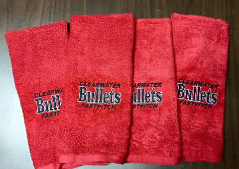 Embroidered Monogrammed Team Towels!