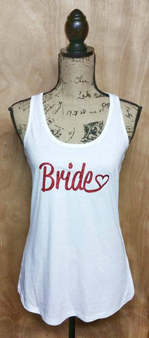 Wedding party Racerback Tank