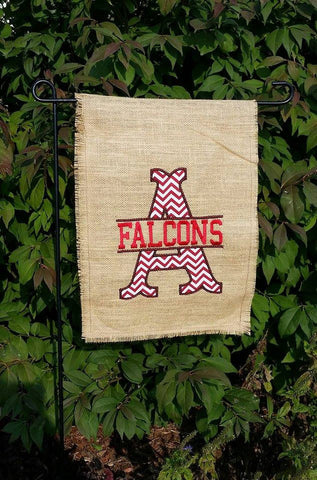 Burlap Garden flag Summer Spring Yard Outdoor Door Decor