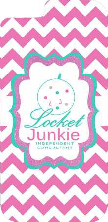 Locket Junkie - Chevron Cell Phone Case