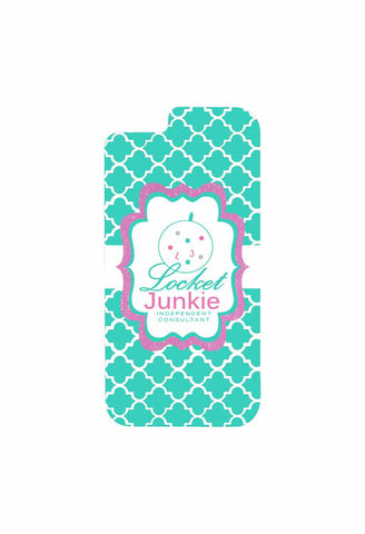 Locket Junkie - Quatrefoil Cell Phone Case