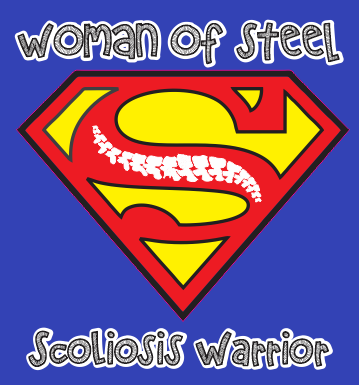 Woman of steel Scoliosis Warrior transfer