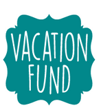 Vacation fund vinyl decal