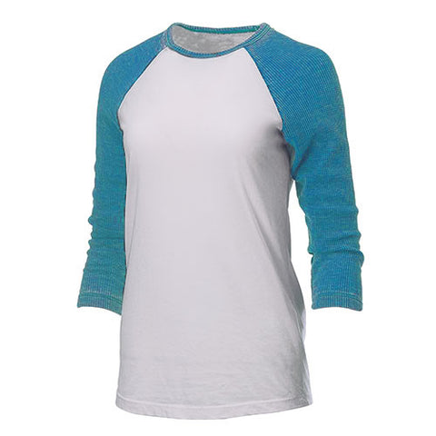 MOVING SALE!! Scentsy logo - DISTRESSED thermal sleeve Baseball Tee