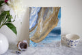 The Monolith Rose from the Sea, an original, canvas painting
