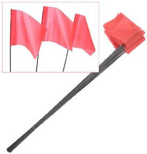 Hidden Fence Boundary Training Flags (bundle of 100)