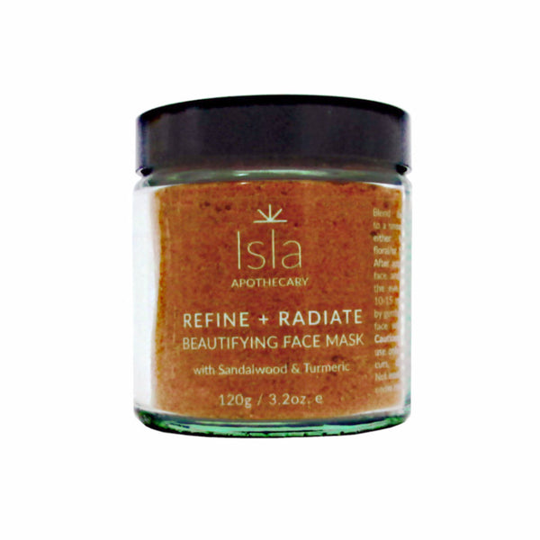 Isla Apothecary Refine and Radiate Beautifying Face Mask Hero London