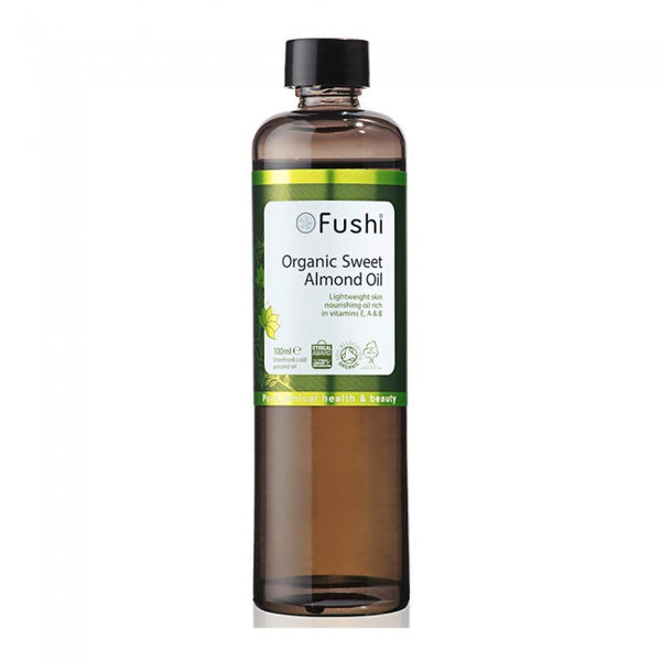 Fushi Organic Sweet Almond Oil Hero London
