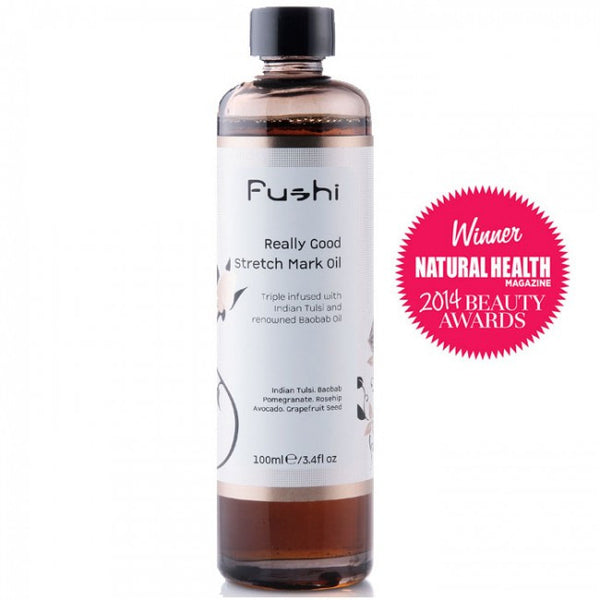 Fushi Really Good Stretch Mark Oil Hero London
