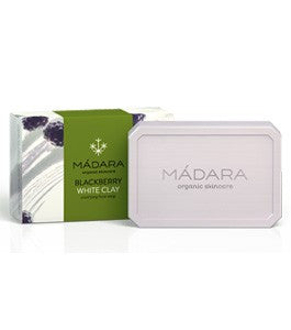 Madara Blackberry White Clay Clarifying Face Soap  Hero London
