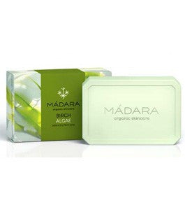 Madara Birch Algae Balancing Face Soap Hero London