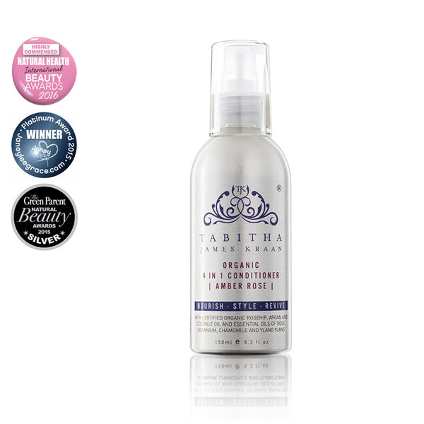 Tabitha James Kraan Amber Rose 4-in-1 Organic Conditioner Hero London
