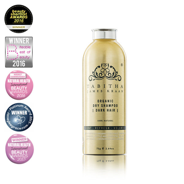 Tabitha James Kraan Organic Dry Shampoo Hero London