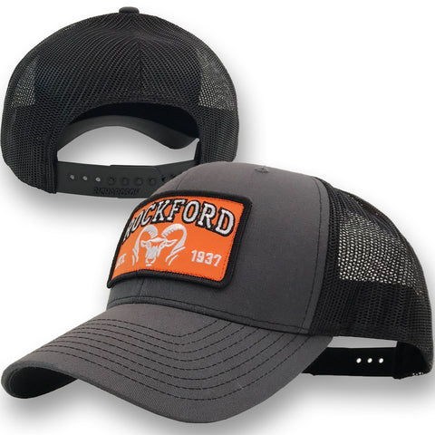 Rockford Established 1937 PATCH Hat