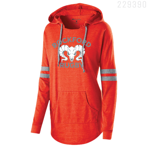 229390 LADIES HOODED PULLOVER