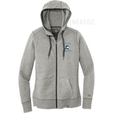 LNEA502 LADIES ZIP HOOD