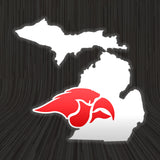 Cedar Springs MI Vinyl Decal
