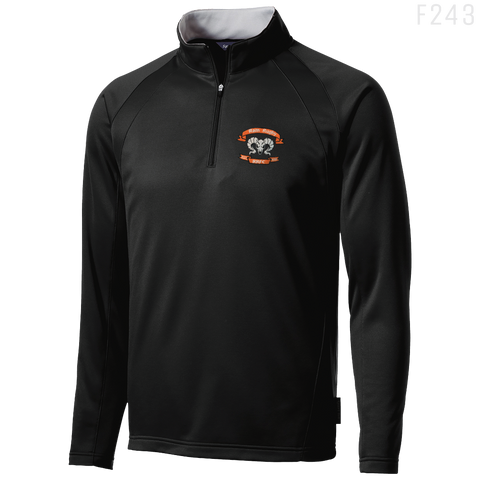 F243 FLEECE 1/4-Zip PULLOVER